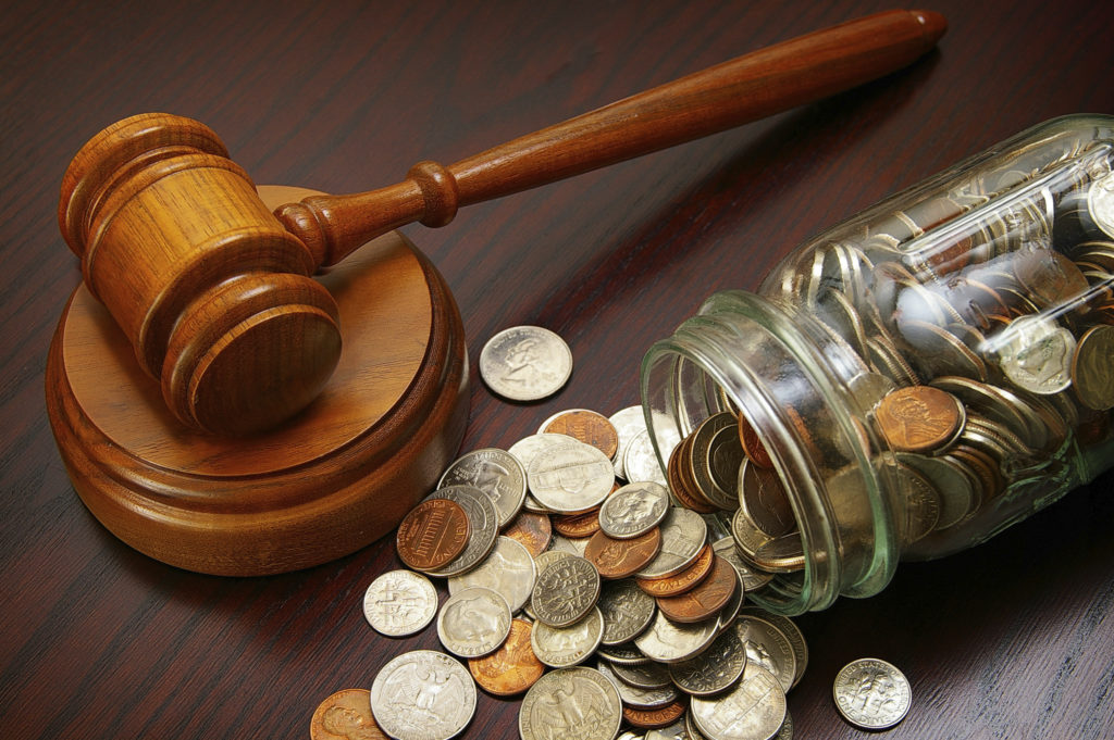 Выплата алиментов на детей по решению суда